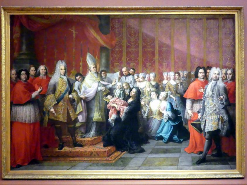Antonio David: Taufe von Prinz Charles Edward Stuart, 1725