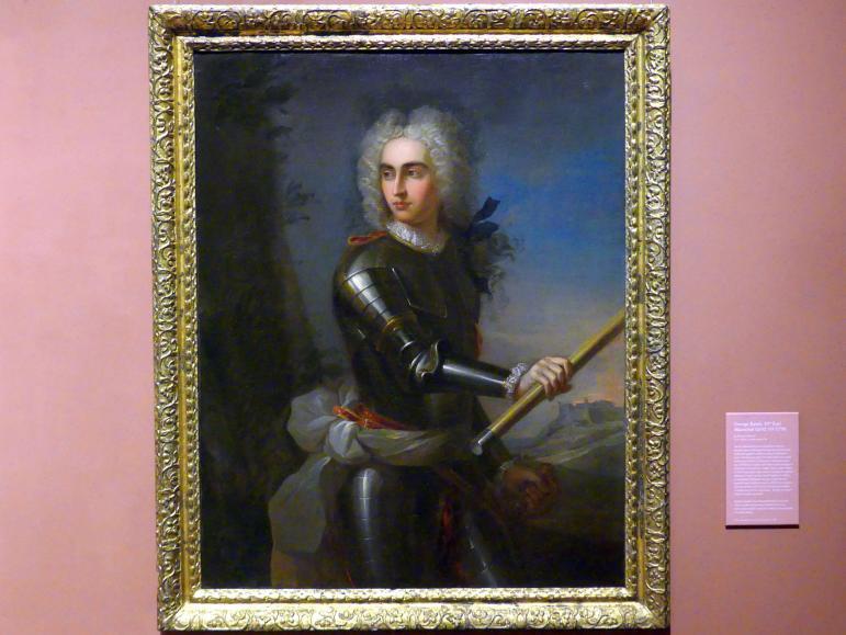 Pierre Parrocel: George Keith, 10. Earl Marischal (1694 - 1778), um 1716