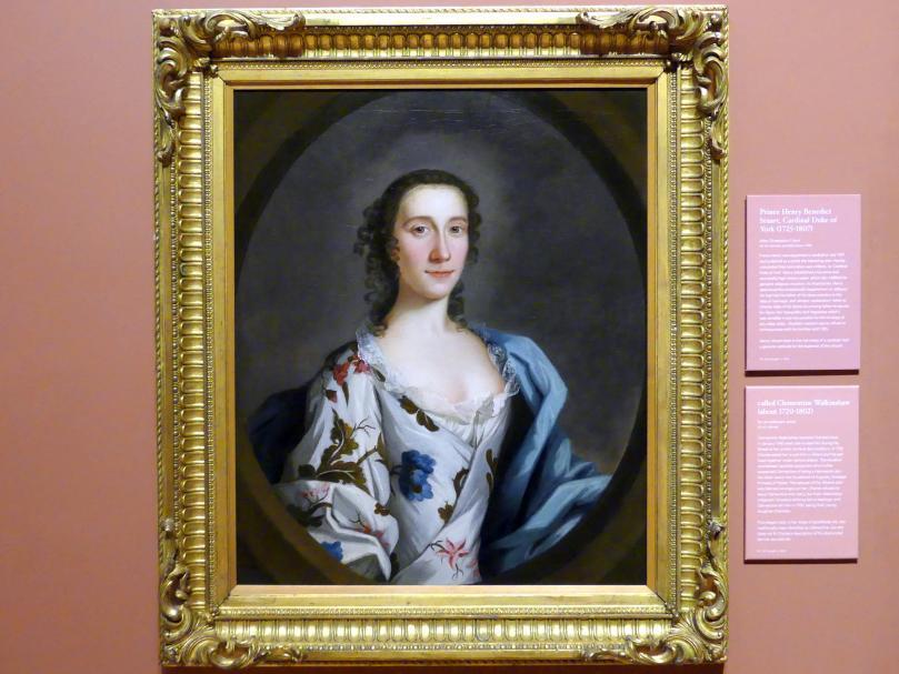 Clementina Walkinshaw (1720-1802), Undatiert