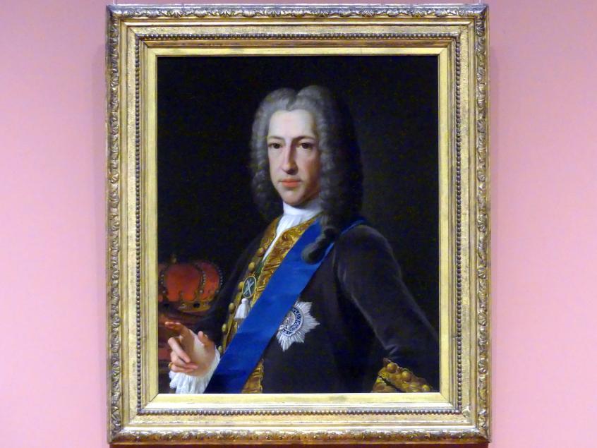 Anton Raphael Mengs: Prinz James Francis Edward Stuart (1688 - 1766), 1748