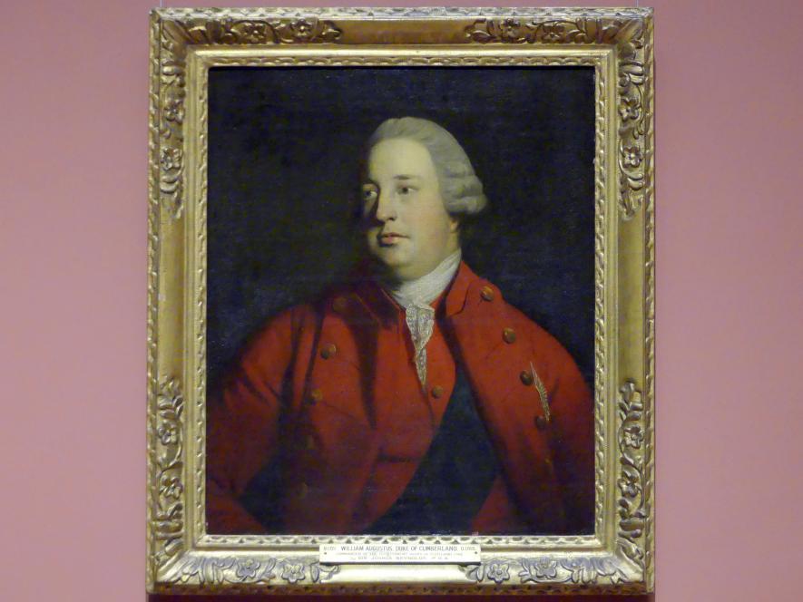Joshua Reynolds: Prinz William Augustus, Herzog von Cumberland (1721-1765), um 1758