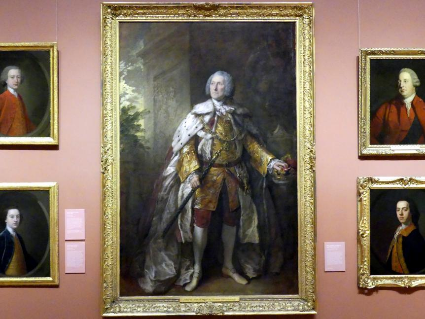 Thomas Gainsborough: John Campbell, 4. Herzog von Argyll (um 1693-1770), 1767