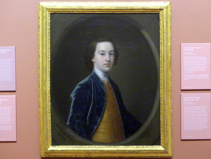 John Alexander: Lord Lewis Gordon (um 1725-1754), 1738