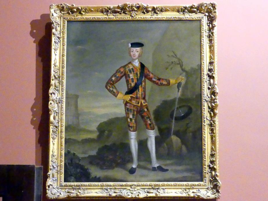 The Harlequin Portrait, um 1750