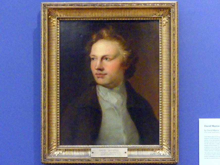 David Martin: Selbstporträt, um 1760