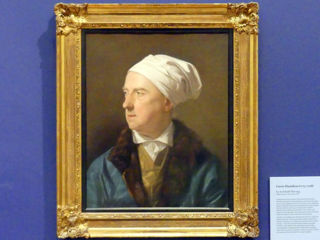 Archibald Skirving: Gavin Hamilton (1723-1798), um 1788