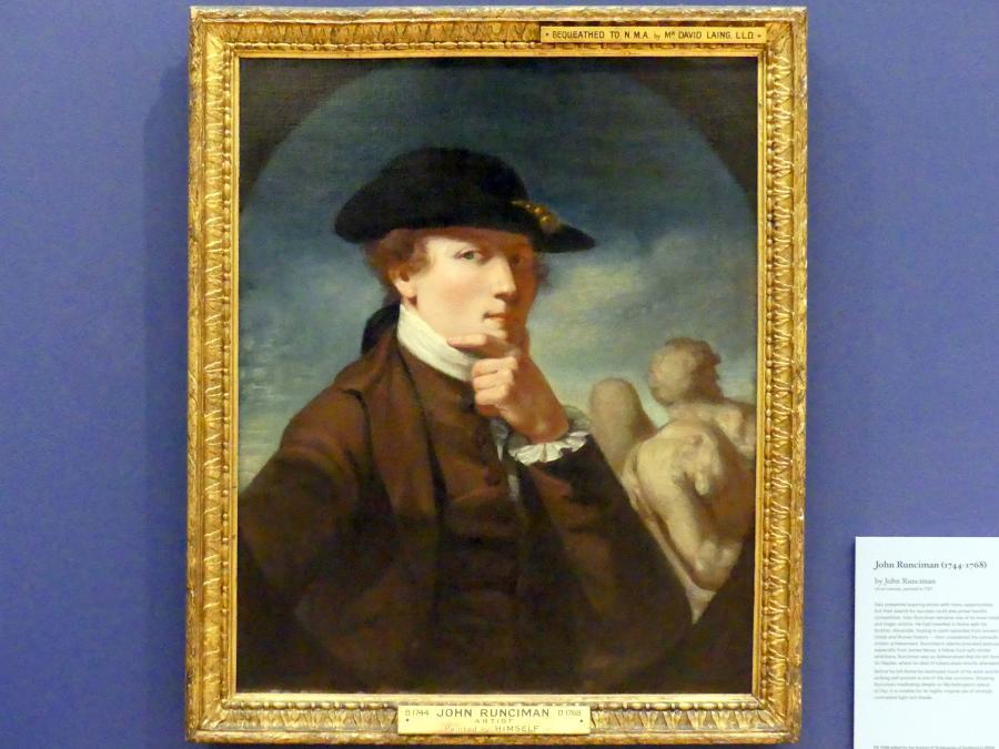 John Runciman: Selbstporträt, 1767