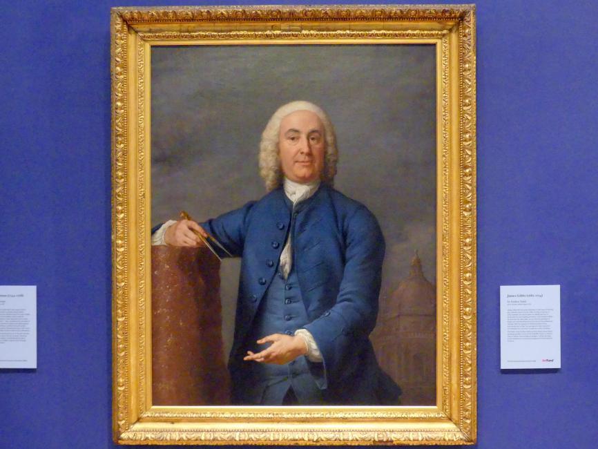 Andrea Soldi: James Gibbs (1682-1754), um 1750