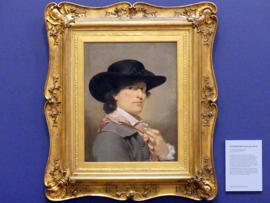 Archibald Skirving: Selbstporträt, Undatiert