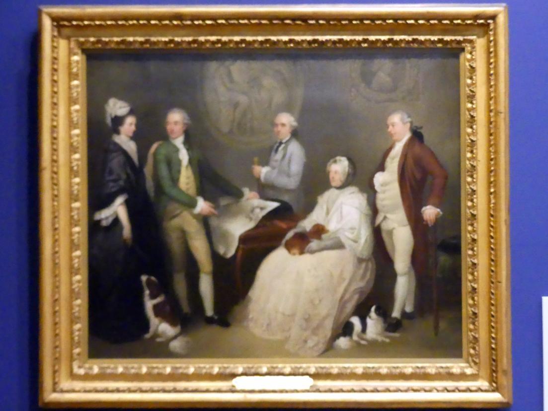 Franciszek Smuglewicz: James Byres of Tonley (1734-1817) mit Familienmitgliedern, um 1780
