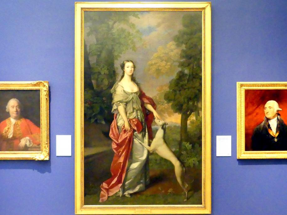Gavin Hamilton: Elizabeth Gunning, Herzogin von Hamilton und später Herzogin von Argyll (1733-1790), um 1752 - 1753