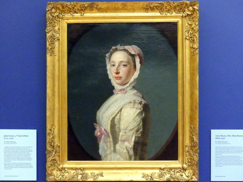 Allan Ramsay: Anne Bayne, Ehefrau von Allan Ramsey (gestorben 1743), um 1739
