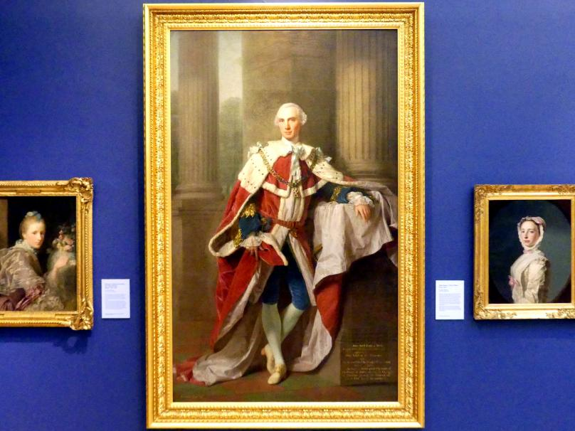 Allan Ramsay: John Stuart, 3. Graf von Bute (1713-1792), 1758