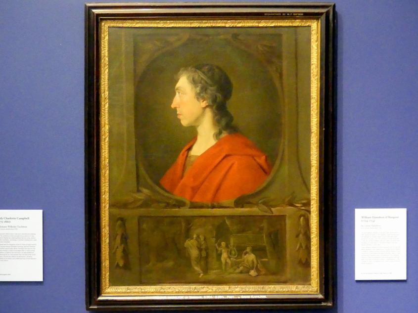 Gavin Hamilton: William Hamilton of Bangour (1704-1754), um 1748
