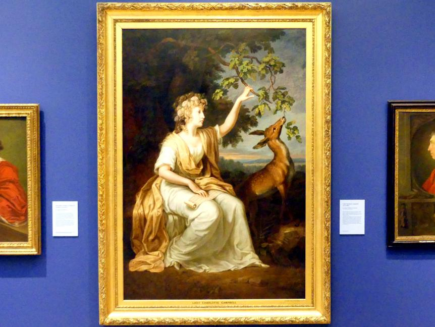 Johann Heinrich Wilhelm Tischbein: Lady Charlotte Campbell (1775-1861), um 1789