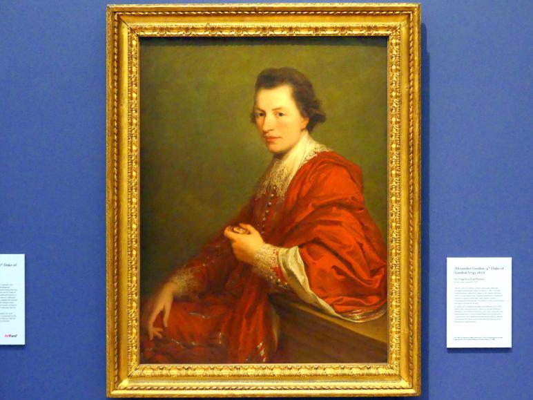 Angelika Kauffmann: Alexander Gordon, 4. Herzog von Gordon (1743-1827), 1774