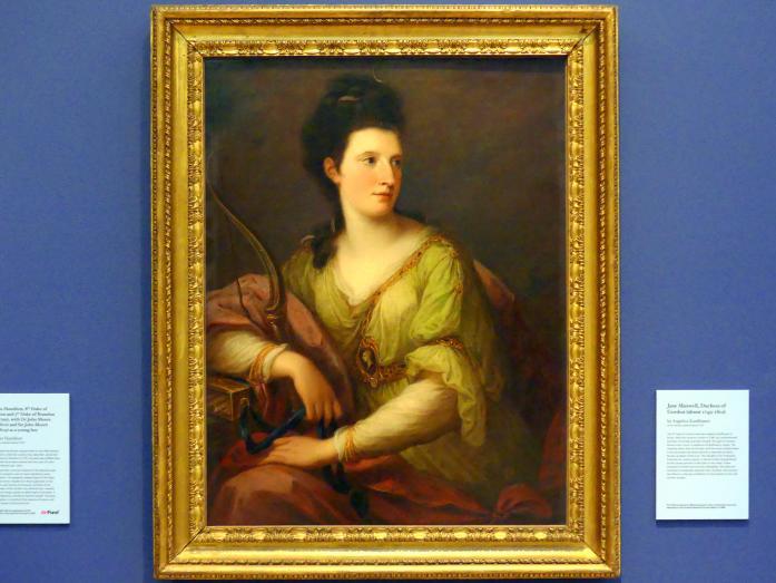 Angelika Kauffmann: Jane Maxwell, Herzogin von Gordon (um 1749-1812), um 1772