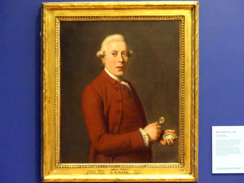 David Allan: James Tassie (1735-1799), um 1781