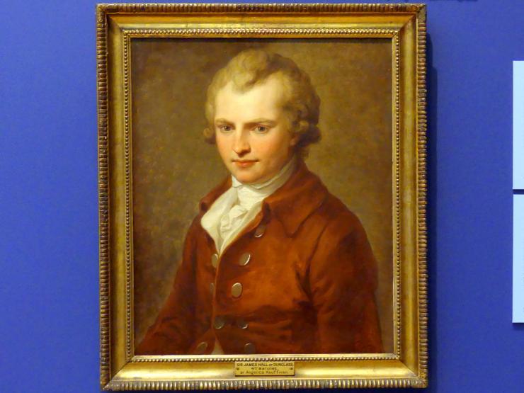 Angelika Kauffmann: Sir James Hall of Dunglass (1761-1832), 1785