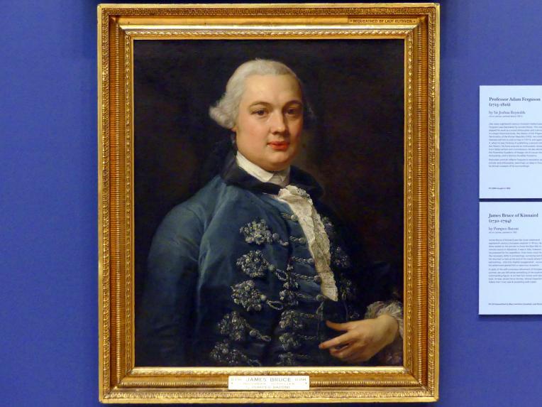 Pompeo Girolamo Batoni: James Bruce of Kinnaird (1730-1794), 1762