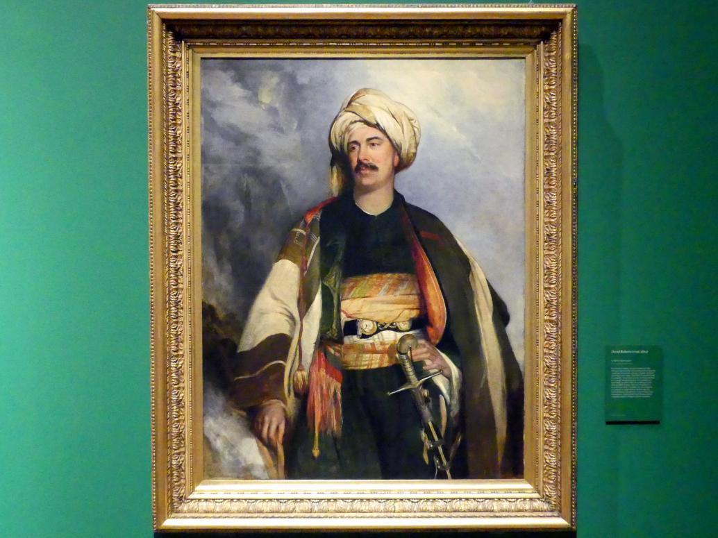 Robert Scott Lauder: David Roberts (1796-1864), 1840