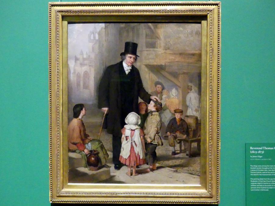 James Edgar: Hochwürden Thomas Guthrie (1803-1873), 1862