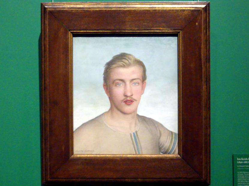 Edward Clifford: Ion Keith-Falconer (1856-1887), um 1875