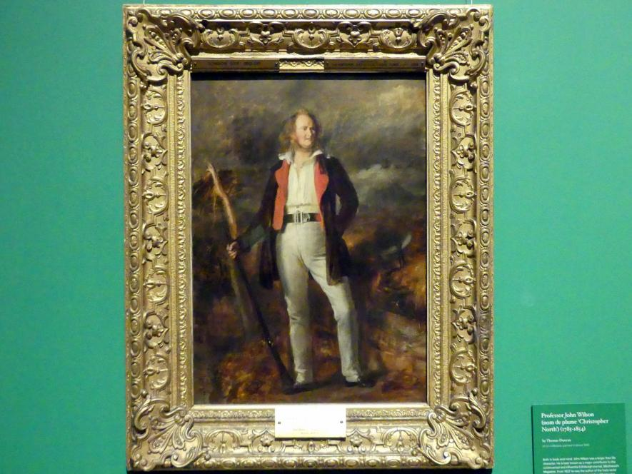 "Thomas Duncan: Professor John Wilson (""Christopher North"") (1785 - 1854), um 1840"