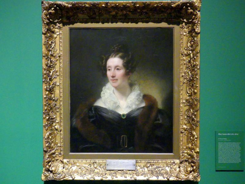 Thomas Phillips: Mary Somerville (1780-1872), um 1834
