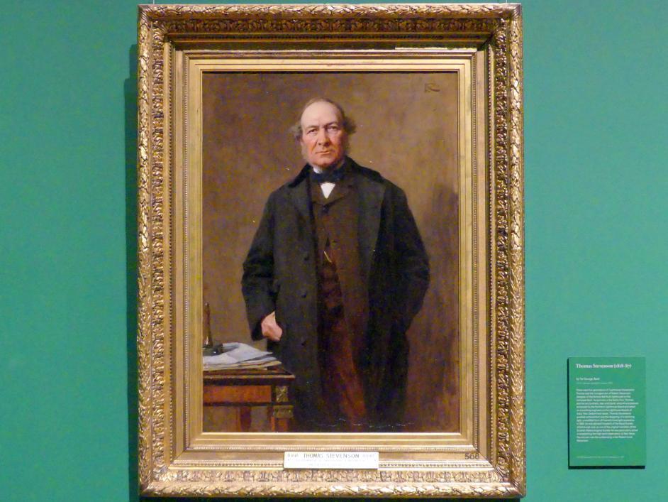 George Reid: Thomas Stevenson (1818-1887), um 1878