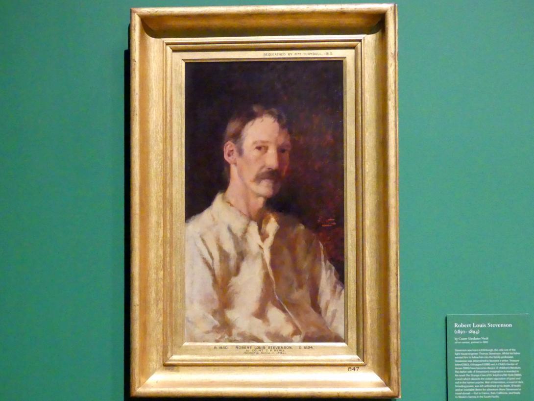 Girolamo Nerli: Robert Louis Stevenson (1850-1894), 1892