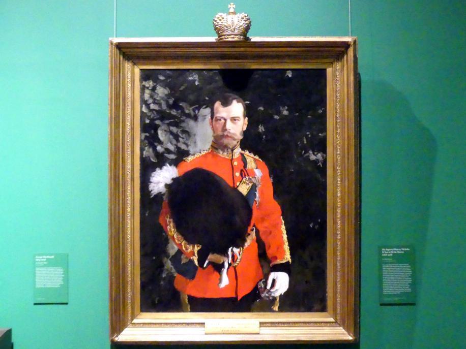 Walentin Alexandrowitsch Serow: Seine Majestät Nikolaus II., Zar von Russland (1868-1918), 1902