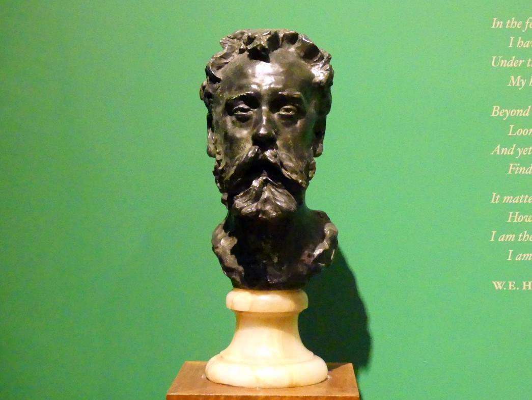Auguste Rodin: William Ernest Henley (1849-1903), 1882