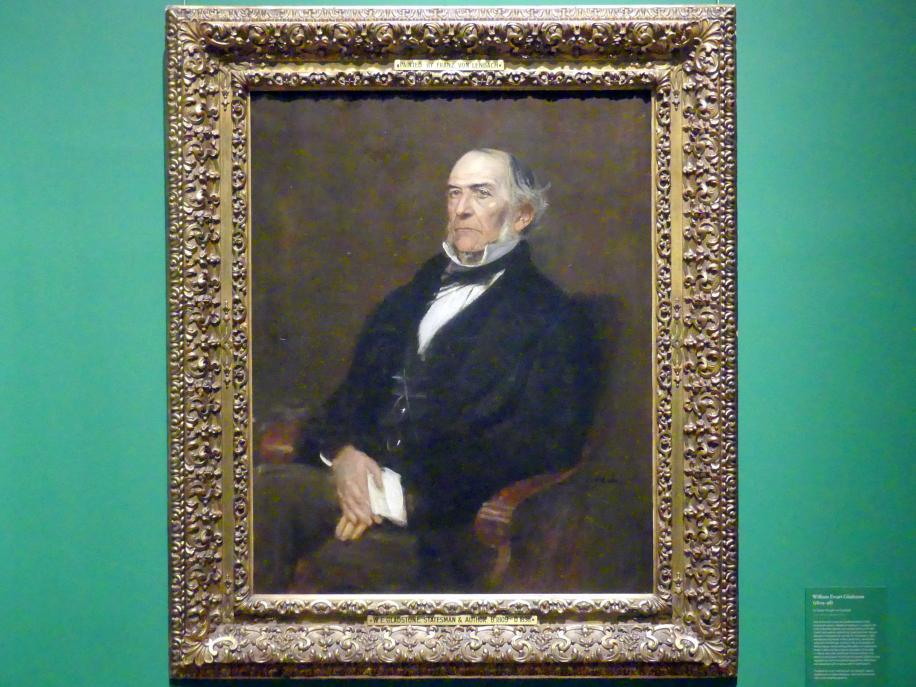 Franz von Lenbach: William Ewart Gladstone (1809-1898), 1879