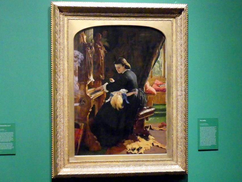 Joseph Noel Paton: The Lullaby, um 1861