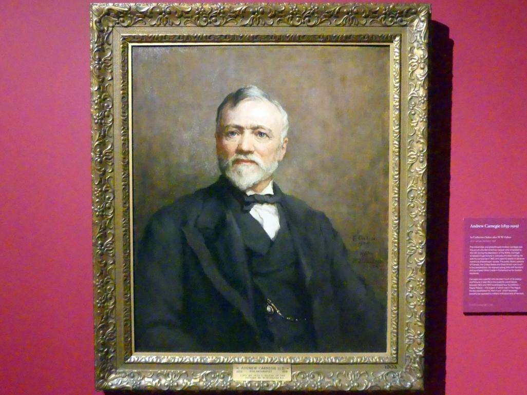 Catherine Ouless: Andrew Carnegie (1835-1919), 1925
