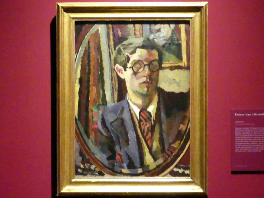 Duncan James Corrowr Grant: Selbstporträt, um 1920