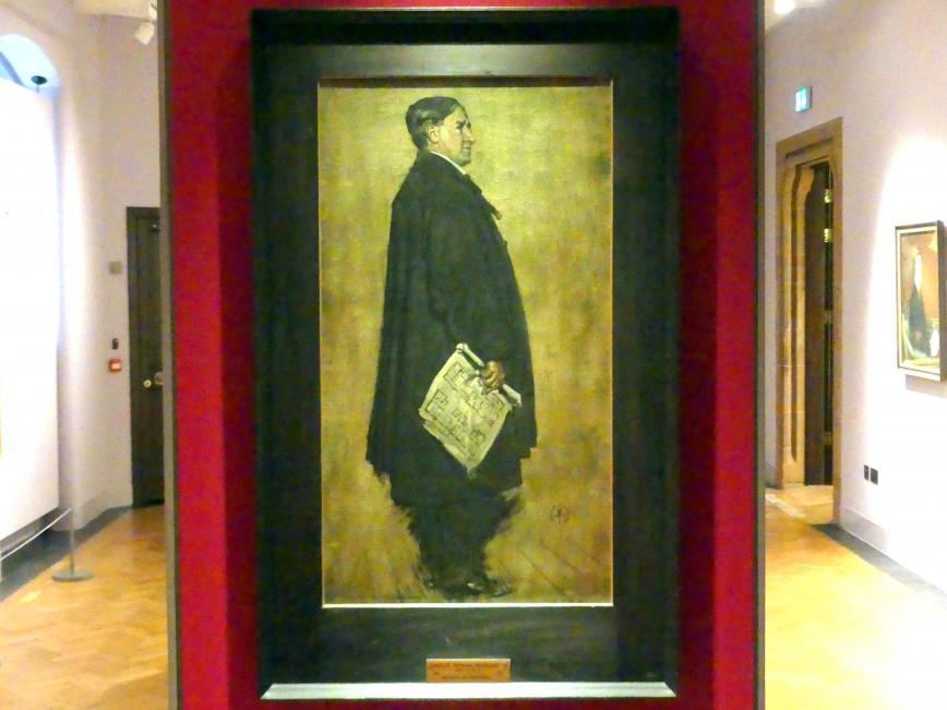 Francis Henry Newbery: Charles Rennie Mackintosh (1868-1928), 1914