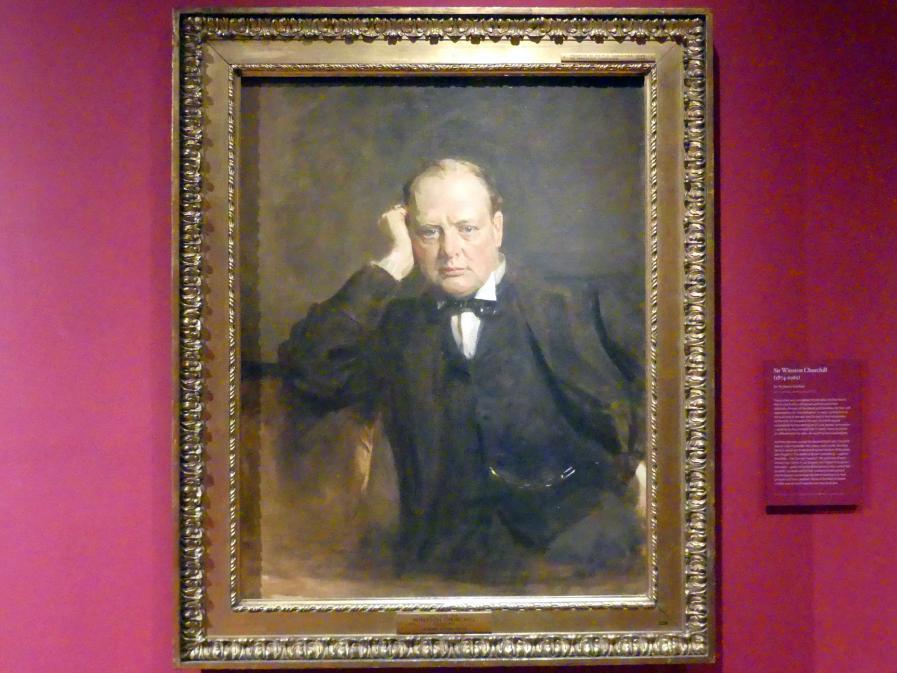 James Guthrie: Sir Winston Churchill (1874-1965), um 1919