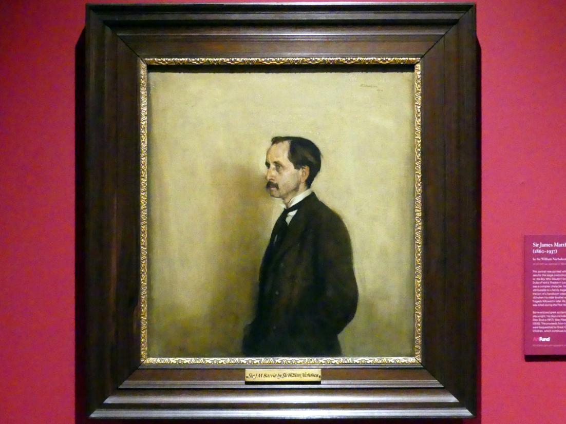 William Nicholson: Sir James Matthew Barrie (1860-1937), 1904