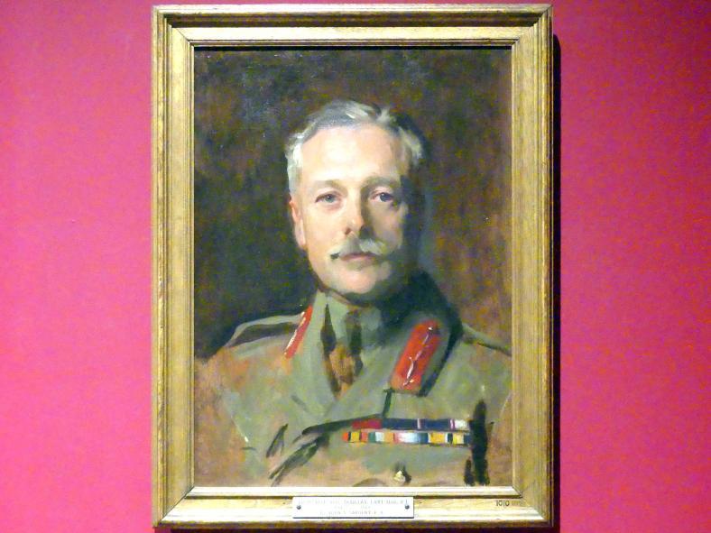 John Singer Sargent: Douglas Haig, 1. Earl Haig, um 1919 - 1922