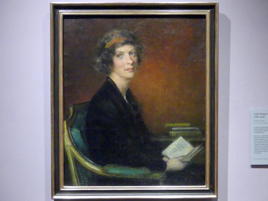 Henry John Lintott: Lady Margaret Sackville (1881-1963), um 1916