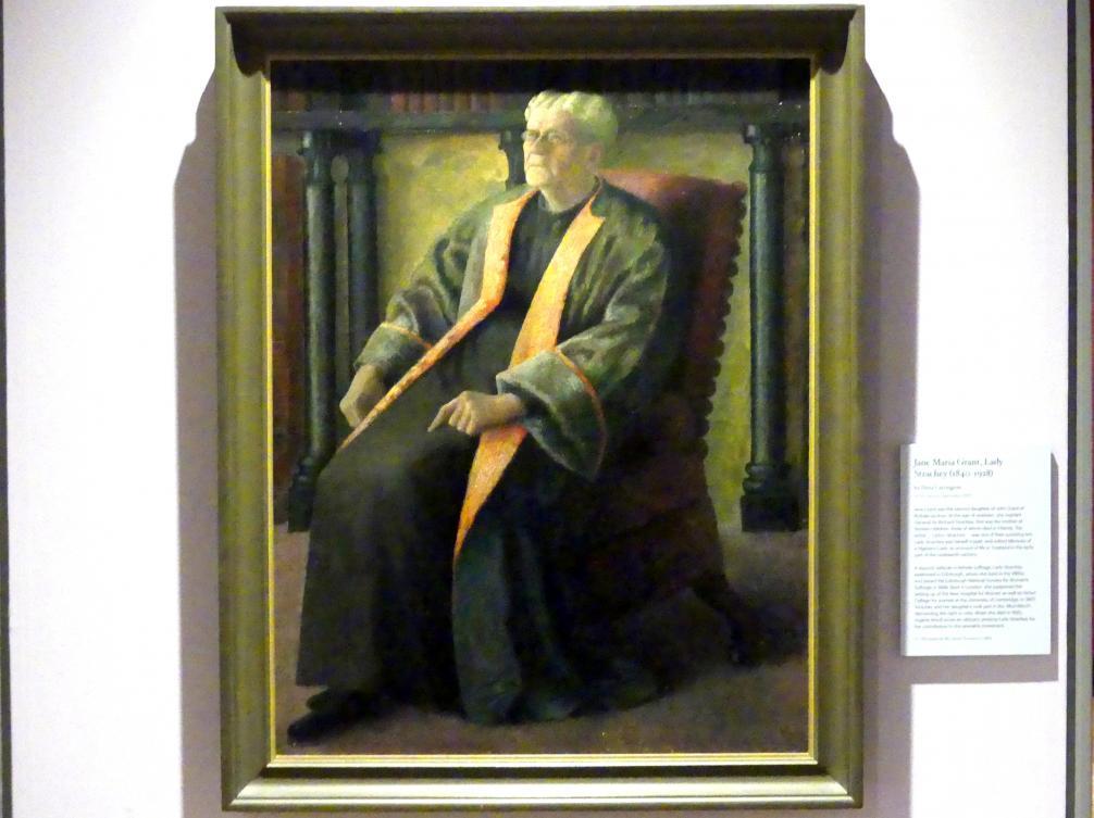 Dora Carrington: Jane Maria Grant, Lady Strachey (1840-1928), 1920