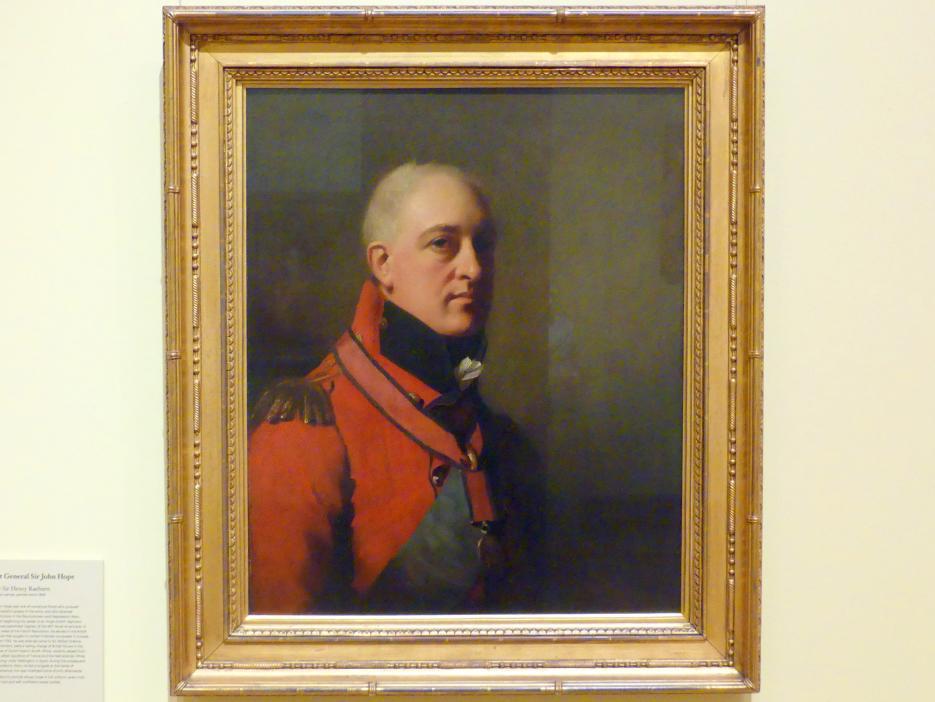 Henry Raeburn: Generalleutnant Sir John Hope, um 1806