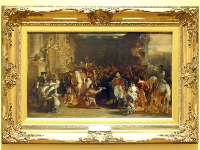 David Wilkie: Der Einzug von Georg IV. in den Palast von Holyroodhouse, 1828