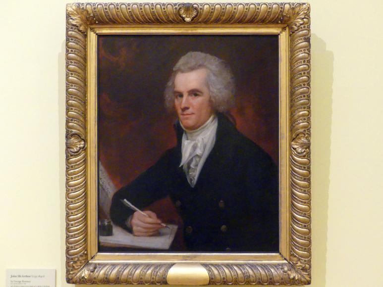 George Romney: John McArthur (1755-1840), 1795