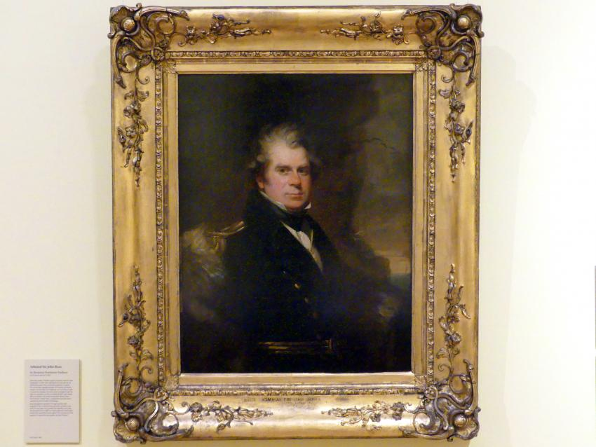 Benjamin Rawlinson Faulkner: Admiral Sir John Ross, 1829