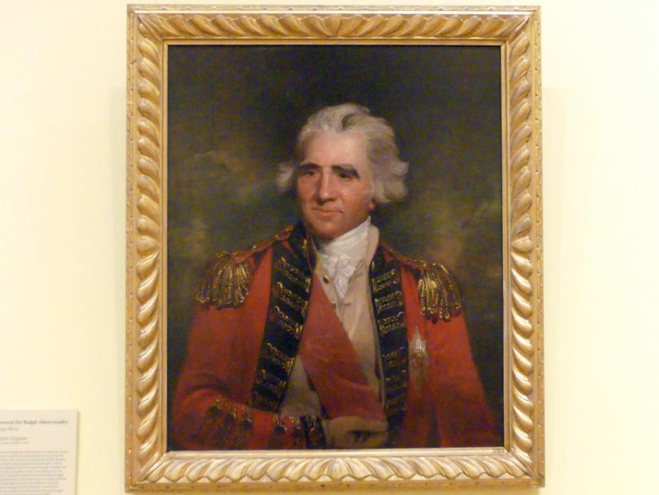 John Hoppner: General Sir Ralph Abercromby (1734-1801), 1787 - 1788