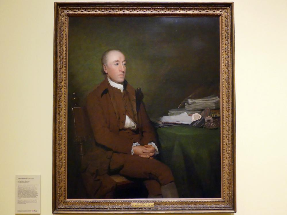 Henry Raeburn: James Hutton (1726-1797), um 1776