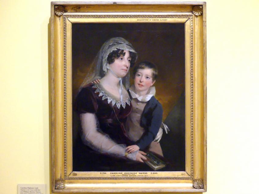 John Watson Gordon: Carolina Oliphant, Lady Nairne (1766 - 1845) mit ihrem Sohn William Murray Nairne, der spätere 6. Lord Nairne (1808 - 1837), um 1818